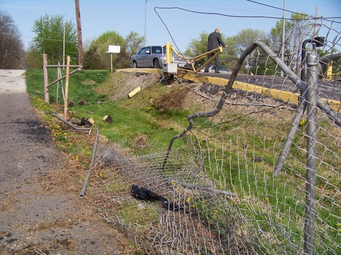 April 2011 Gate Damage